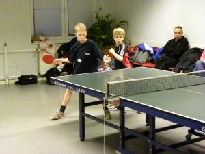 Florian und Jacob beim Doppel