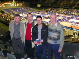 Mario, Heiko, Thomas und Peter in Berlin