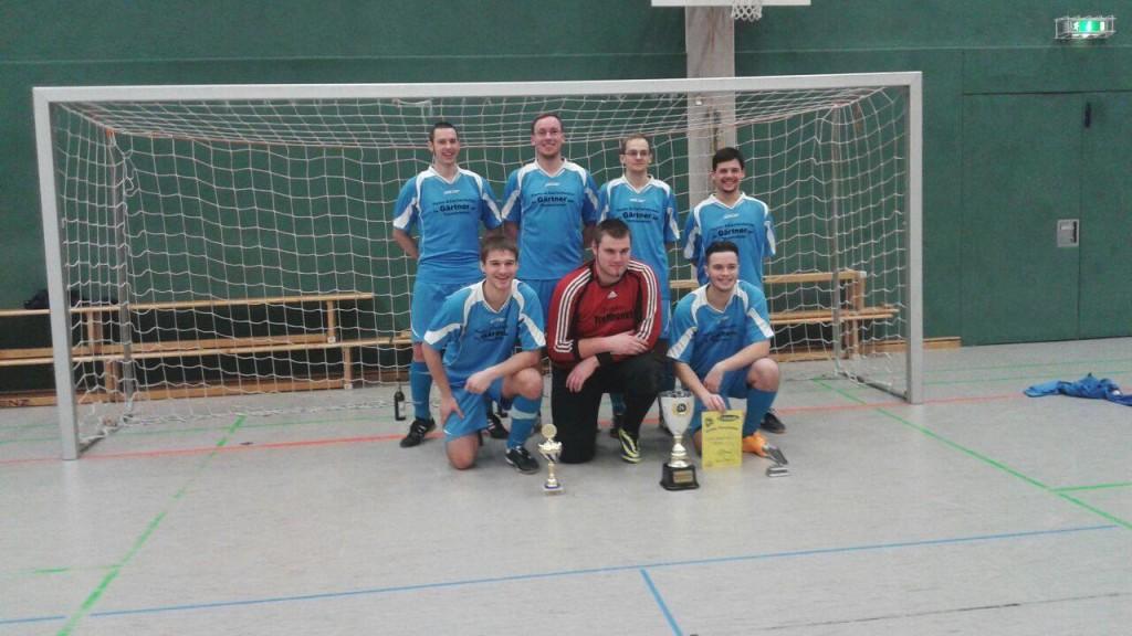 1. Platz der Männer beim Winter-Cup des Malterhausener SV