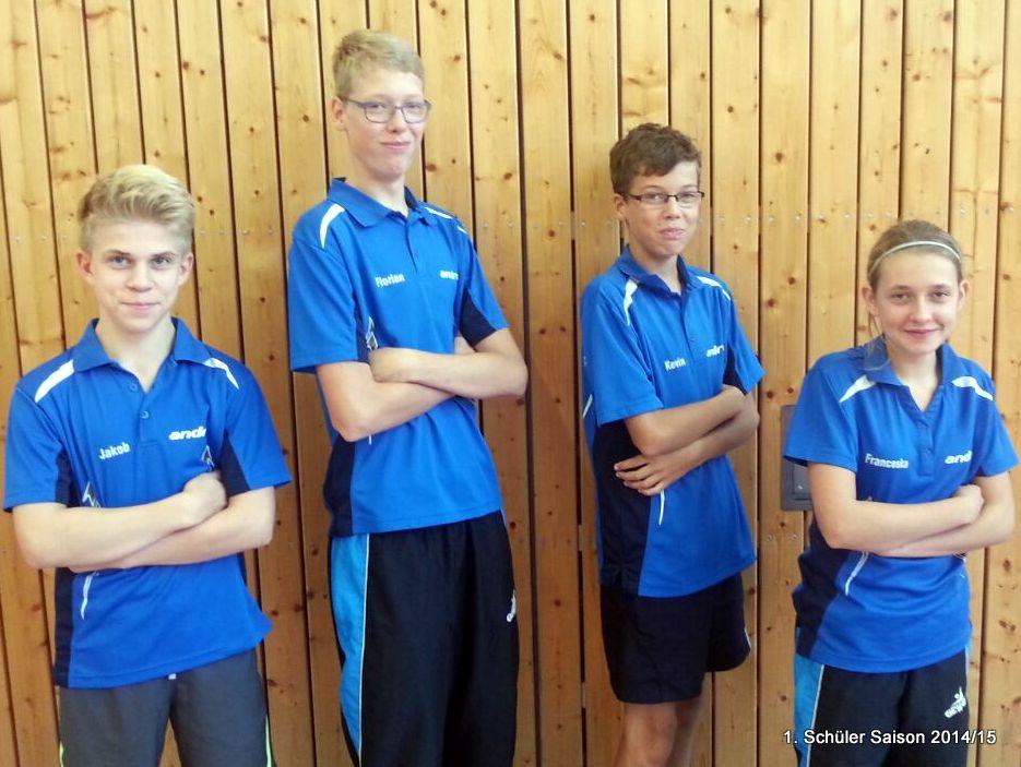 von links: Jakob Braune, Florian Pust-Schmidt, Kevin Pust-Schmidt, Franceska Felgentreu