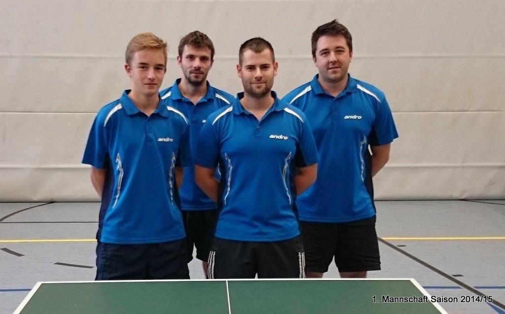 von links: David Dietrich, Robert Benedikt, Jens Trompke, Daniel Speidel