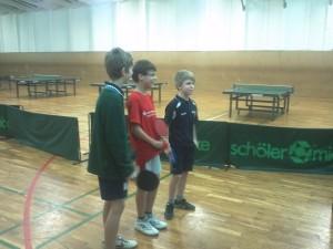 Janek, Kevin und Jakob in Wittstock