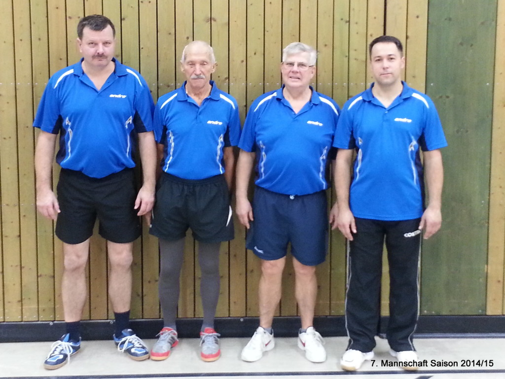 von links: Steffen Merker, Hans-Peter Korthals Heinz Grund, Maik Hellenberg (Sabine Decker)