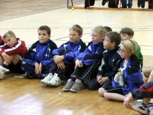 Die TSV-Kids beim Tag des Talents