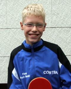 Florian Pust-Schmidt - erfolgreichster Teilnehmer für den TSV