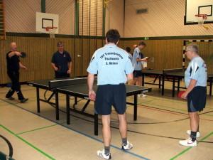 Heinz & Steffen gewannen ihr Doppel