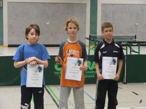 Janek siegte bei den C Schülern