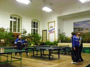 Karsten und Heiko im Doppelmatch