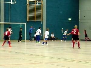 Im Spiel um Platz 3 - v.li. Jerremy, Kevin, Axel(4), Jakob(7) und Daniel