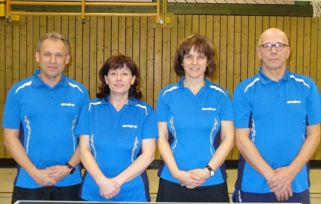 von links: Andreas Trompke, Astrid Trompke, Dagmar Schlenz, Gerhard Willinga