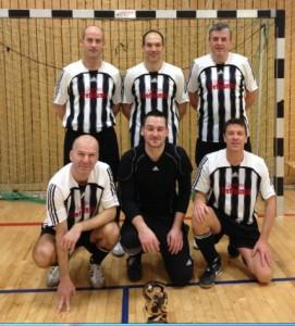 Siegerteam Hallenturnier Brück