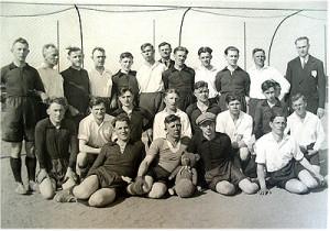 Die Gründungsmannschaft des FC Olympia 1914
