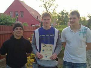 TSV II mit Kilian, Alex und Andy
