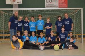 Die D-Junioren beim ela-Cup