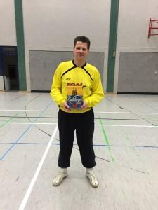 Bester Torhüter des Turniers Thomas Peuschke