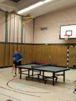 Heiko Müller und Daniel Gockel im Doppel gegen SG Geltow 4